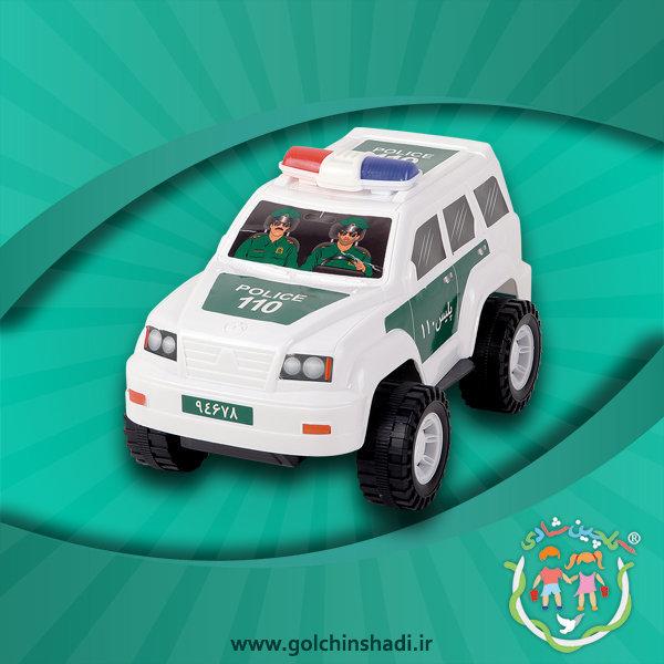 اسباب بازی پلاستیکی پاترول پلیس طرح 110